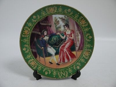 'La Rencontre' 3rd Plate in the Josephine et Napoleon Series (AH11)