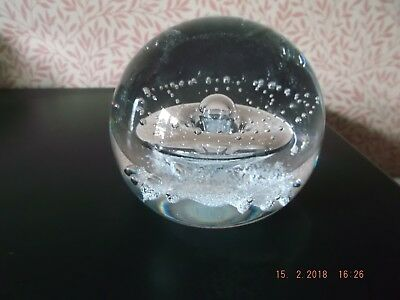 """Caithness Glass. Crystal Paperweight """"Starwatch"""""""