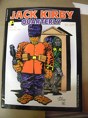 TwoMorrows 1998 JACK KIRBY QUARTERLY #10 oop rare