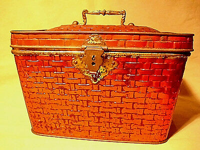 "1910""DEAN´S BON VOYAGE BOX backery+catering"" 572-FIFTH-AVENUE-NY CANDY-LUNCH-BOX"