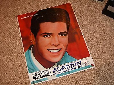 Cliff Richard & The Shadows: Aladdin and His Wonderful Lamp - Palladium brochure