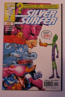 What If #104 - Starring Silver Surfer - Thanos app. - Marvel Comics