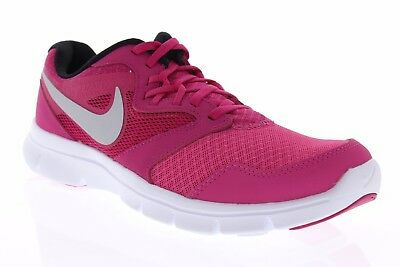 d1cfde7ea Nike Girls Flex Experience 3 Size 6Y New Pink White Running Shoes 653698 601