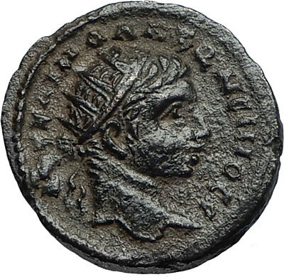 ELAGABALUS 218AD Antioch in Seleukis Pieria Ancient Roman Coin w EAGLE i67060