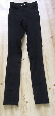Dusty Girl Childs Size 12, Sticky Bum Horse Riding Jodhpurs Leggings Black