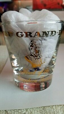 Old Grand-Dad Whiskey Low Ball Glass ~ Kentucky Straight Bourbon Whiskey Vintage