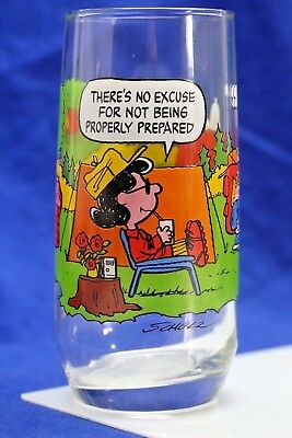 "1968 Camp Snoopy. ""Theres No Excuse For Not Being Properly Prepared""  McDonalds,"