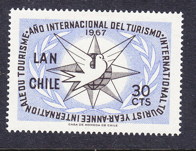 Chile 1967 Tourism Year Mint
