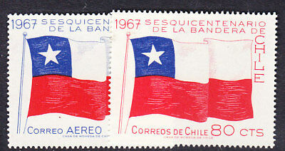 Chile 1967 National Flag  Mint