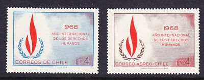 Chile 1969 Human Rights Year Mint
