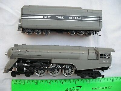 AHM Rivarossi 5095, 4-6-4 Streamlined Hudson, NYC 5446,Steam Locomotive,HO Scale