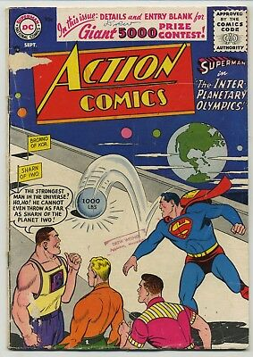 Action Comics 220 Early Silver Age