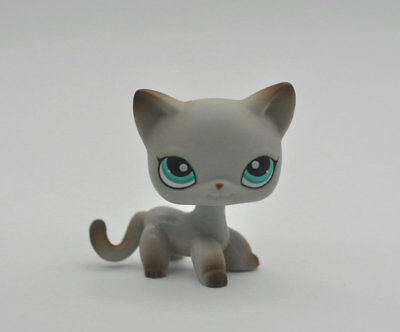 CAT SHORT HAIR Littlest Pet Animal child girl boy figure loose cute LPS39