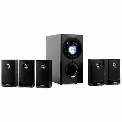 Home Theatre 5.1 Cinema Sistema Audio Bluetooth Subwoofer Casse Altoparlanti