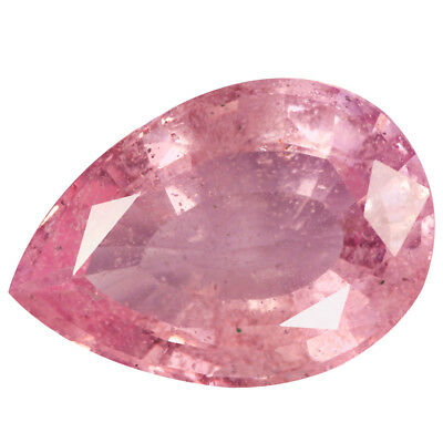 64.07 Ct Valuable  Pear cut 33 x 24 mm 100% Natural Rose Pink Morganite