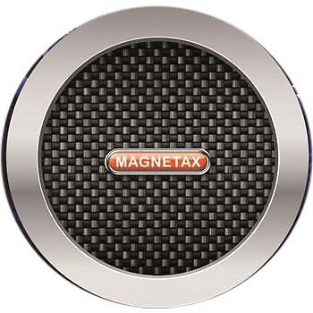 Carbon black Magnetax Magnetic Car Tax Disc Holder for all cars windscreen -SALE