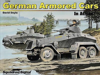 20106/ Squadron Signal - In Action 50 - German Armored Cars - TOPP HEFT