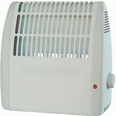 Small 425w Wall Mounted Compact Heater With Thermostat Frost Watcher - UK Plug