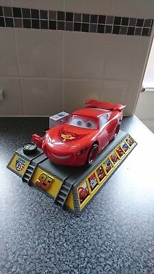 Disney Pixar Rare Large Lightning Mcqueen Interactive Talking&moving Storyteller