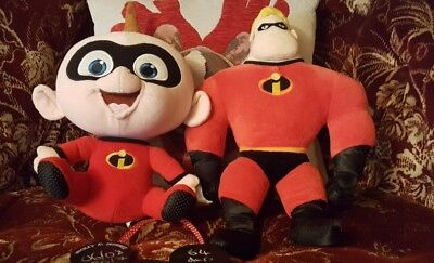 Disney Incredibles mr.incredible and jack jack soft toys plush