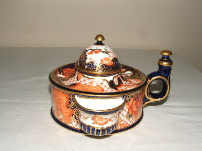 Royal Crown Derby Imari 1895 Inkwell So Rare & Truly Stunning