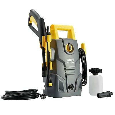 Work Expert 135 Bar Pressure Washer High Power 1600W Electric Patio Car Cleaner