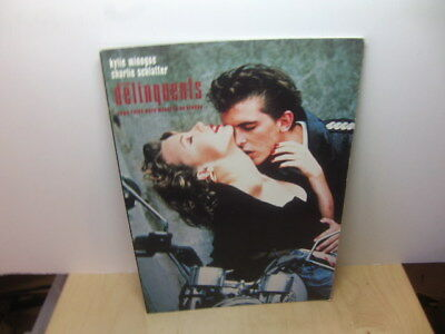 Kylie Minogue + Charlie Schlatter in The Delinquents 1989 Book of the Film