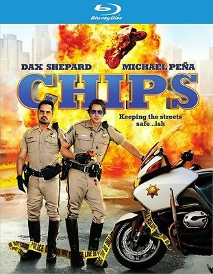 Chips (Blu-ray Disc ONLY, 2017)