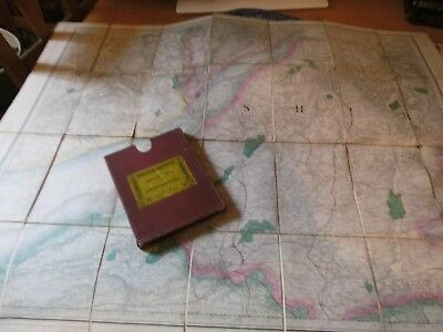 Gloucestershire Bristol:antique Map:lt Col Colbys Ordnance:1830-80:by E.stanford