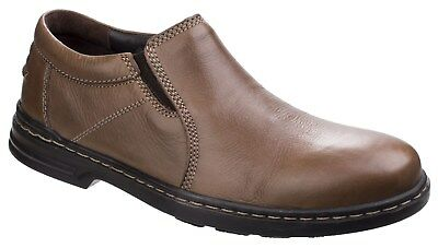 New Mens/Gents Brown Hush Puppies Milton Hanston Casual Shoes UK SIZES