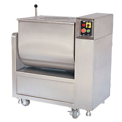 100lbs. Commercial Quality Meat Mixer - stainless