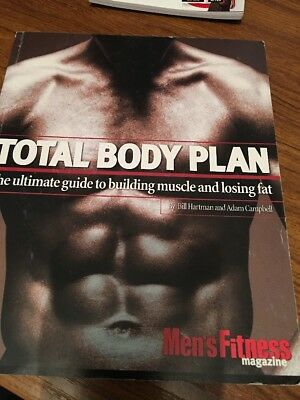 Men's fitness magazine total body plan book + other stuff