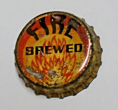 Fire Brewed - Horluck Brewing Co - Cork Beer Bottle Cap - Seattle, Washington