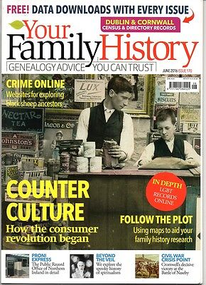 Your Family History June 2016 Issue 170