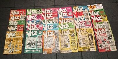 Large Viz Comic collection joblot rare early issues 1980's