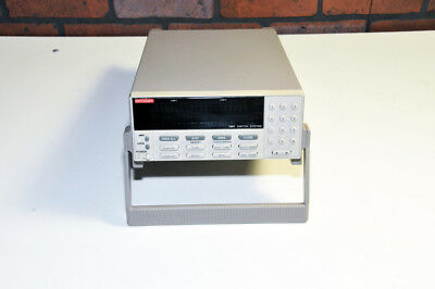 Keithley 7001 Switch System with a bright clear display  Fully Tested, Warranty!