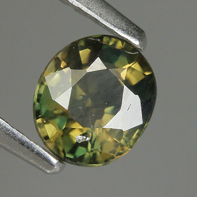 0.57 Ct Natural Unheated Greenish Yellow KORNERUPINE Oval Gem @ See Video !!