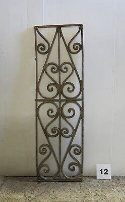 Antique Egyptian Architectural Wrought Iron Panel Grate (IS-012)