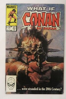What If Conan #43 - ...Were Stranded In The 20th Century? - Marvel Comics