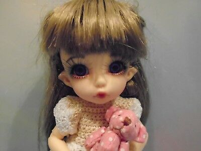 Fairyland Bjd Doll Pukifee Ante With Wigs Clothing Shoes Eyelashes As Pictured