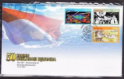 Indonesia 2007 50th Anniversary  Djuanda Declaration First Day Cover