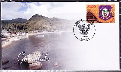Indonesia Provinces 2008  Gorontalo First Day Cover