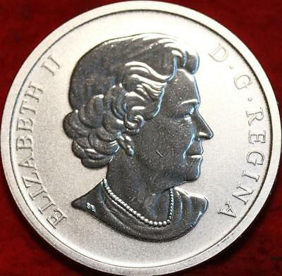 Uncirculated 2011 Canada 25 Cents Silver Wedding Coin