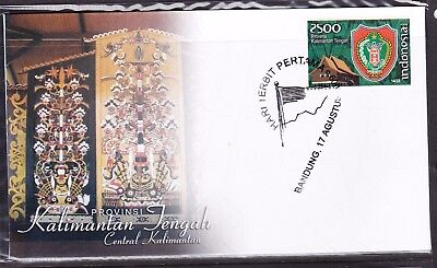 Indonesia Provinces 2009 Kalimantan Tengah First Day Cover