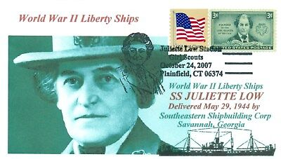 JULIETTE LOW Liberty Ship named:American Founder Girl Scouts Portrait Pictorial
