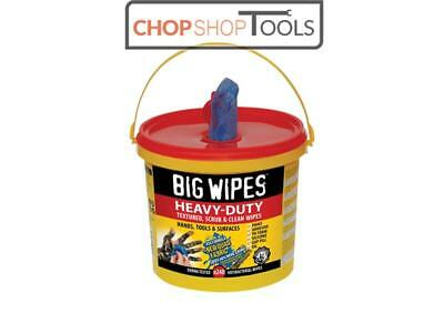 Big Wipes BGW2427 4x4 Heavy-Duty Cleaning Wipes Bucket of 240