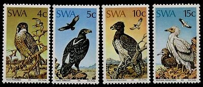 South West Africa 373-6 MNH Birds of Prey