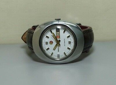 Vintage Rado Automatic Day Date Swiss Made MensWrist Watch OLD R188 old Antique