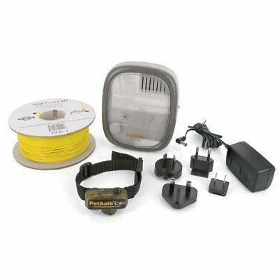 PetSafe Système de confinement électrique Deluxe In-Ground Cat Fence#