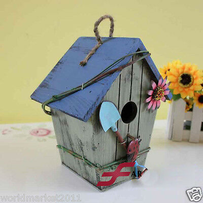 Vintage L17*W12*H20CM Wooden Small House Decoration Model/Money Boxes/Gifts